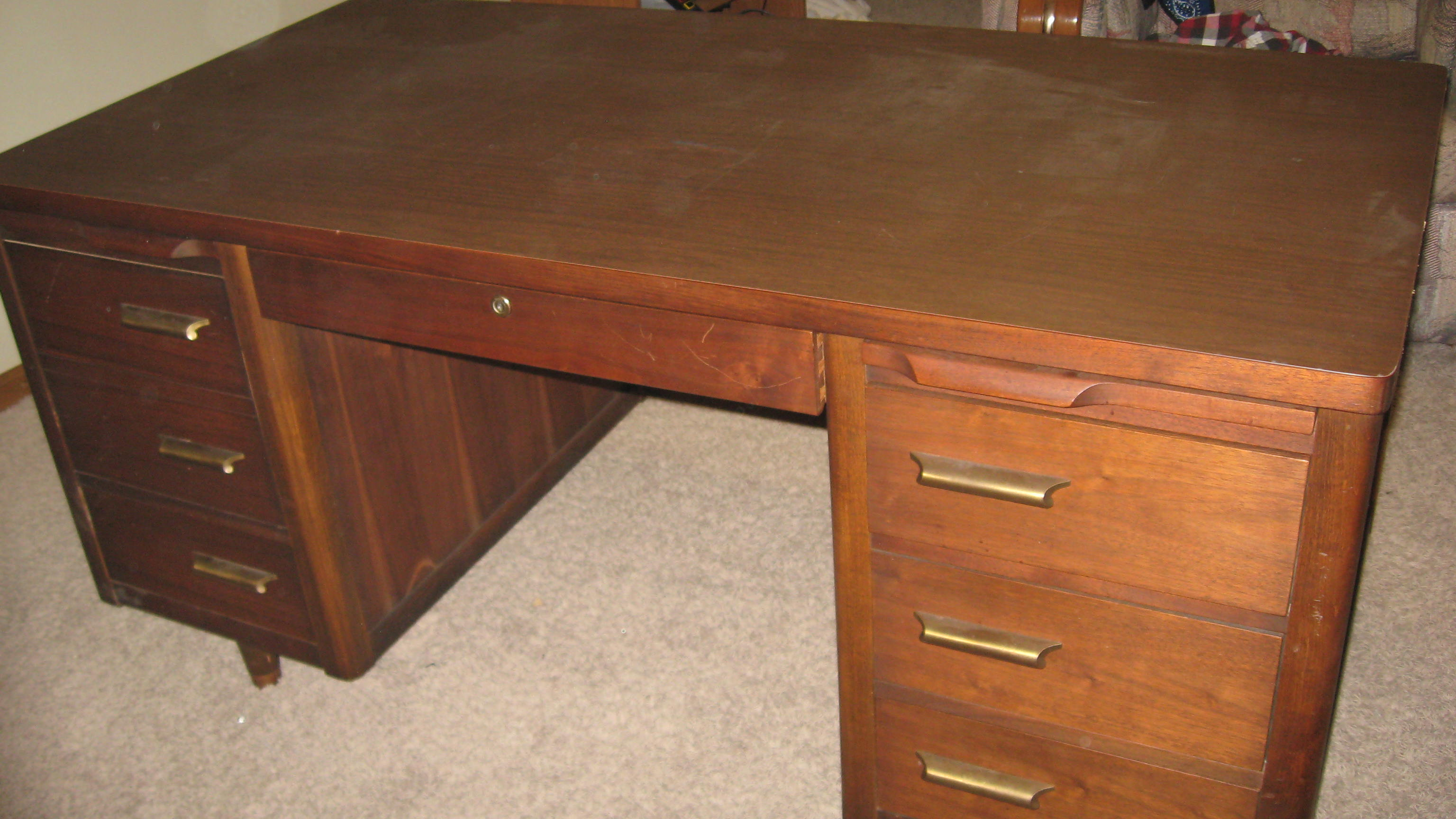 Jasper Office Furniture Desk Antique Appraisal Instappraisal