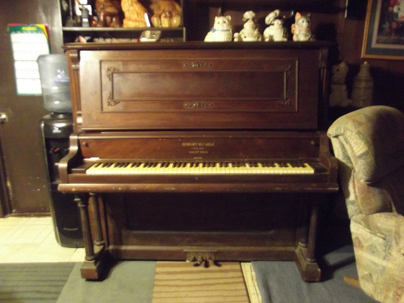 hobart m cable upright piano serial number