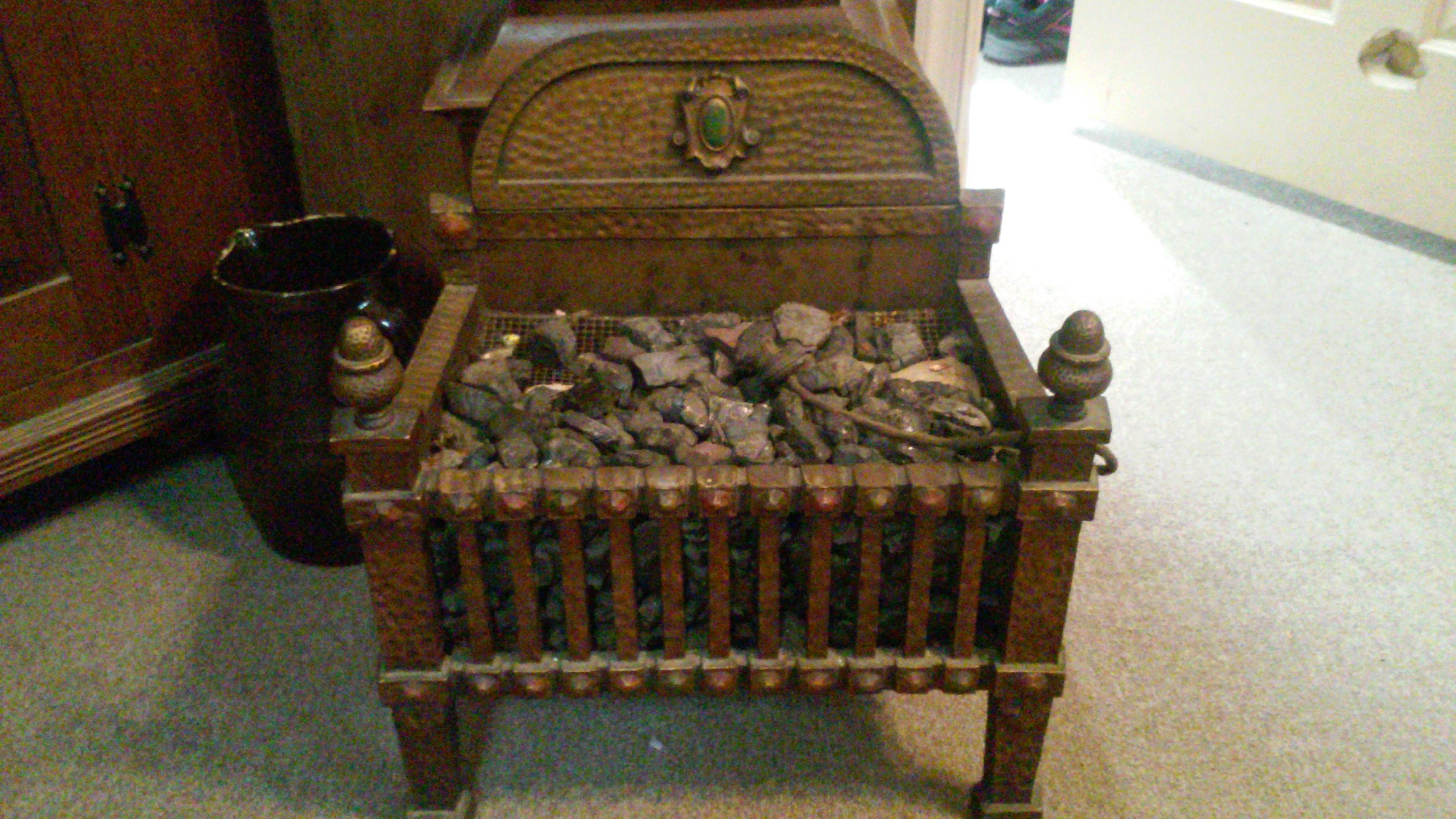 vintage electrical fireplace insert antique appraisal | InstAppraisal