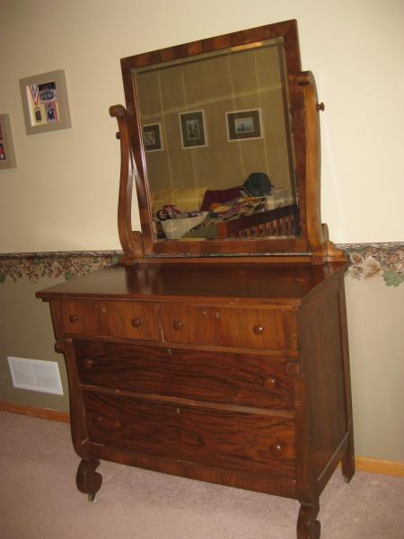 Northern Furniture Company Circassian Walnut Dresser