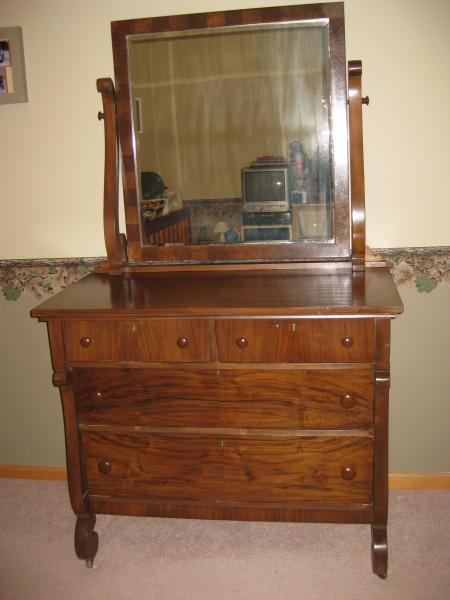 Northern Furniture Company  Circassian Walnut Dresser (2053)