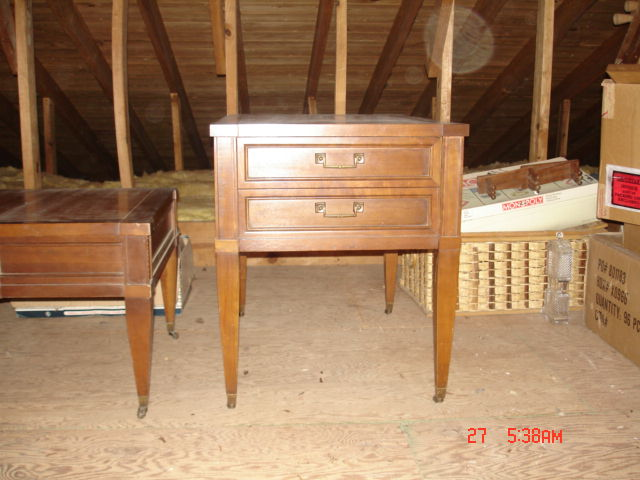 brandt coffee and end tables antique appraisal | instappraisal