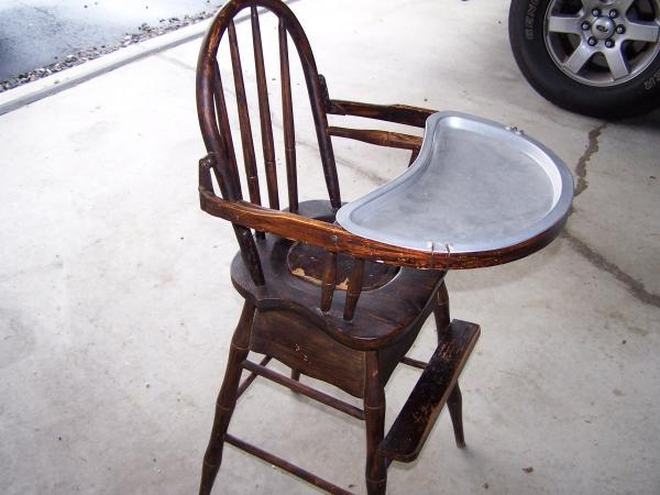 High chair/Potty chair? & High chair/Potty chair? antique appraisal | InstAppraisal