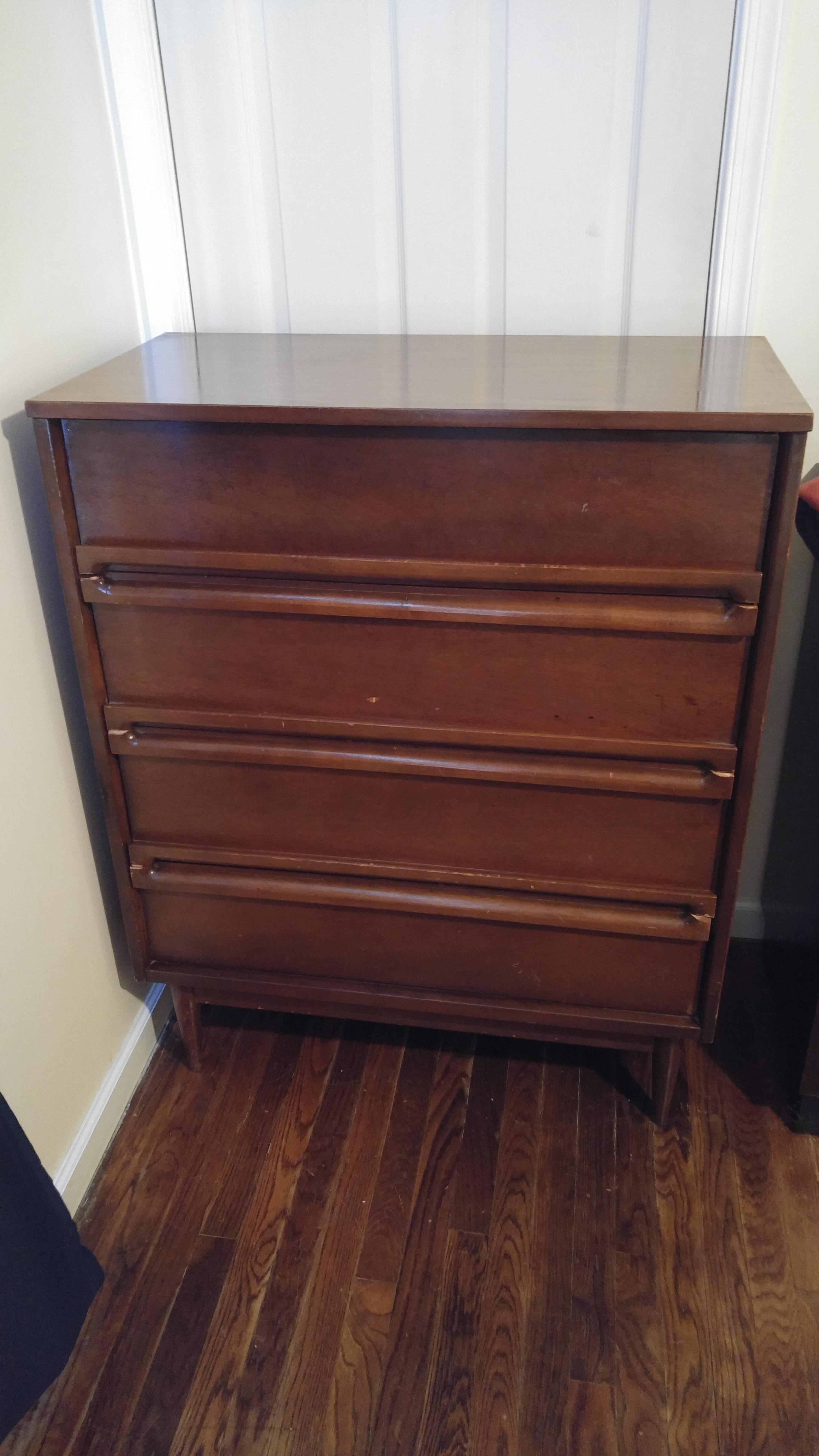 1960s Bassett Furniture Mid Century Dresser antique ...