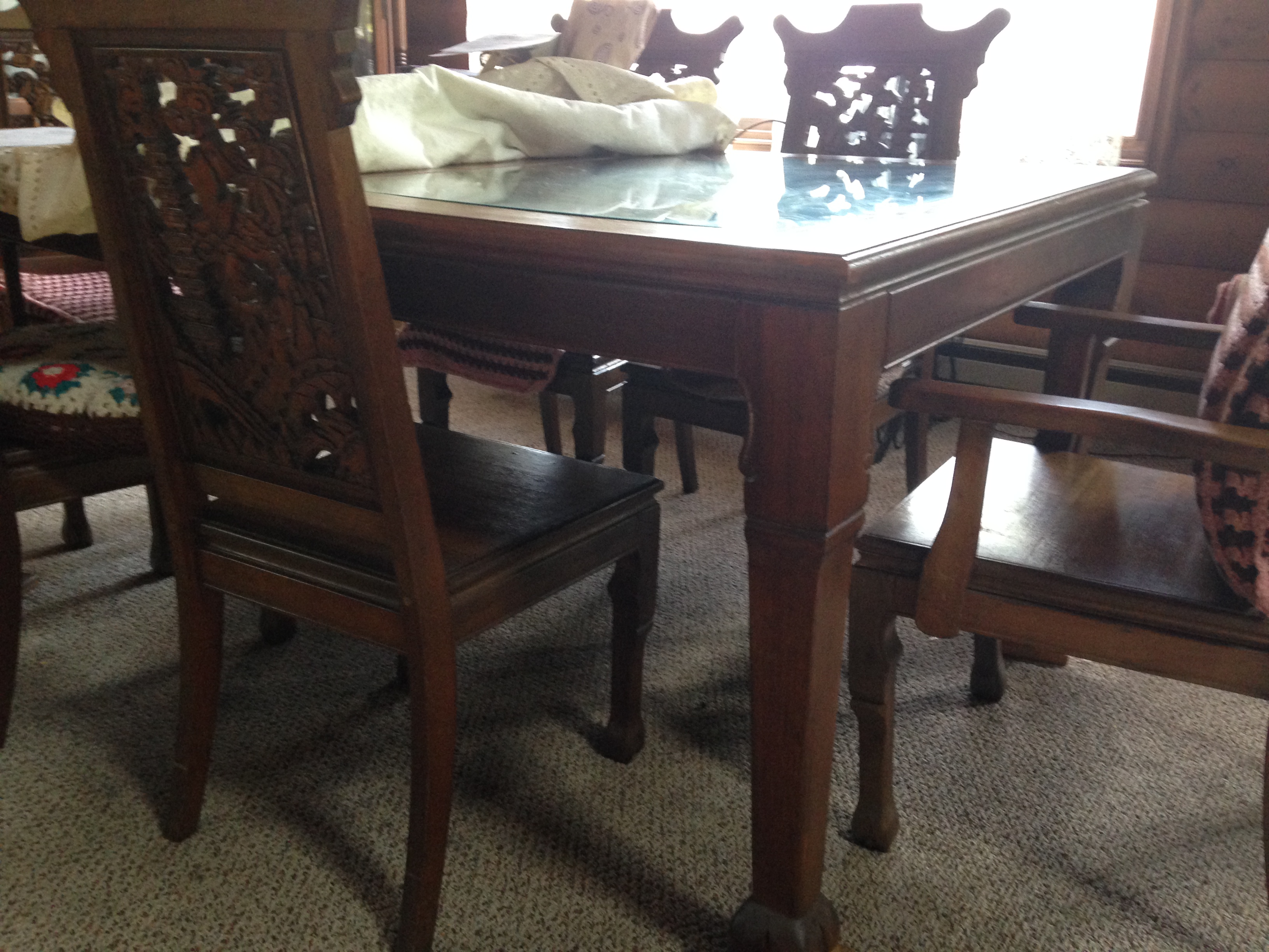Asian Dining Room Table Antique Appraisal