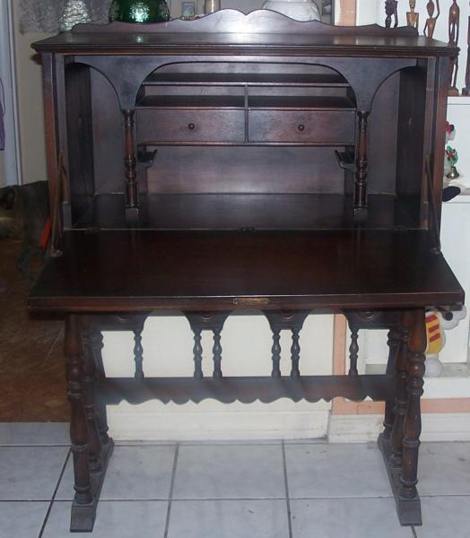Antique Secretary Made By Lenox Shops Furniture Canastota, NY