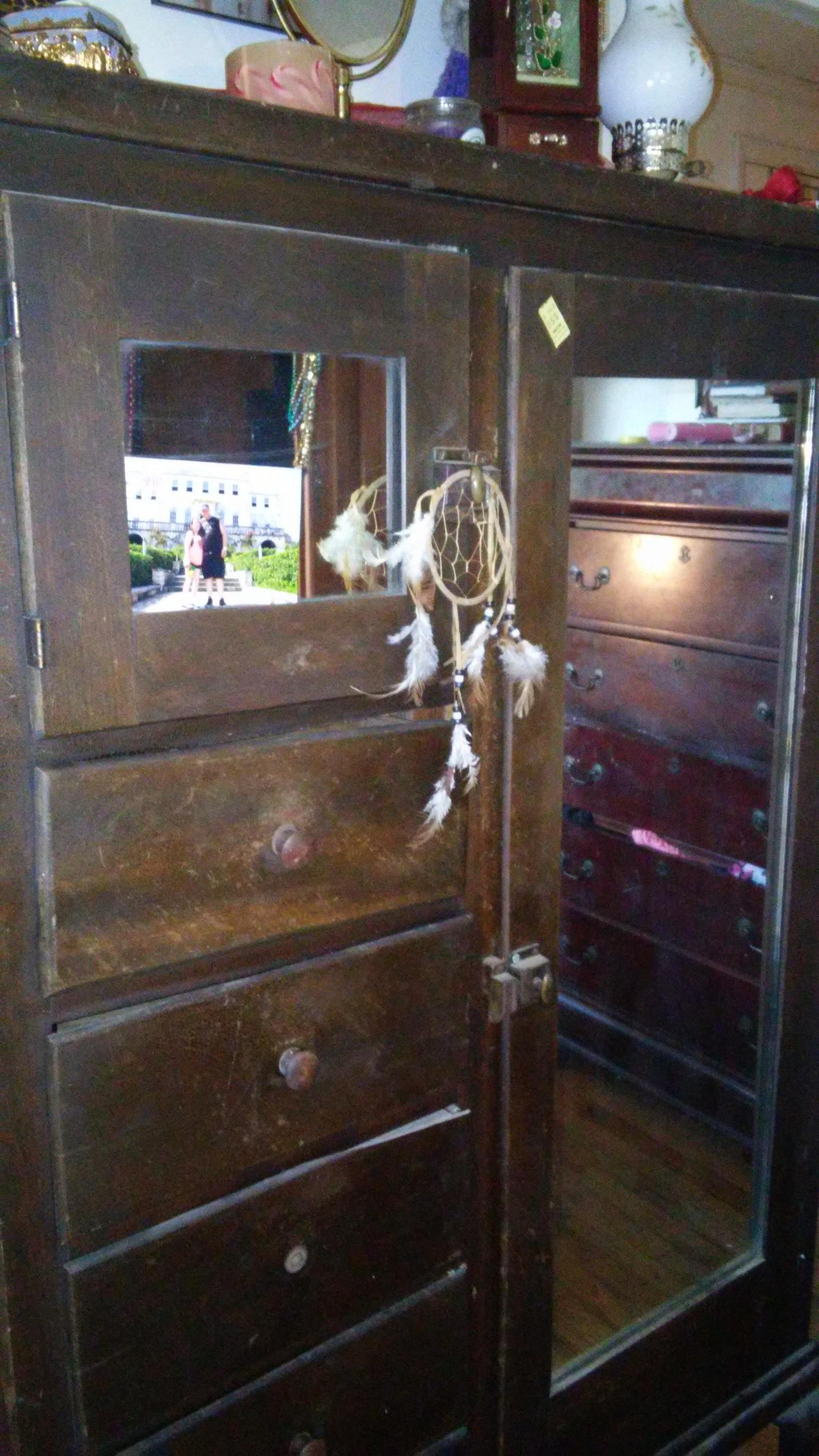 antique chifferobe with mirror Antique chifferobe 2 mirror antique appraisal | InstAppraisal antique chifferobe with mirror