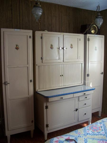 early 1900  s hoosier kitchen cabinet set early 1900  s hoosier kitchen cabinet set antique appraisal      rh   instappraisal com