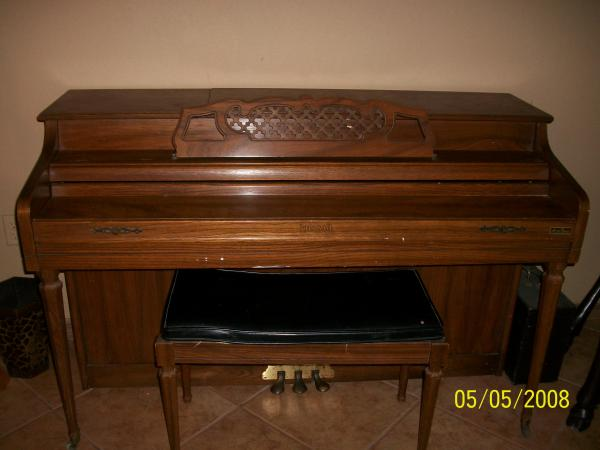 Kimball upright electramatic player piano artist spinet for What are the dimensions of an upright piano