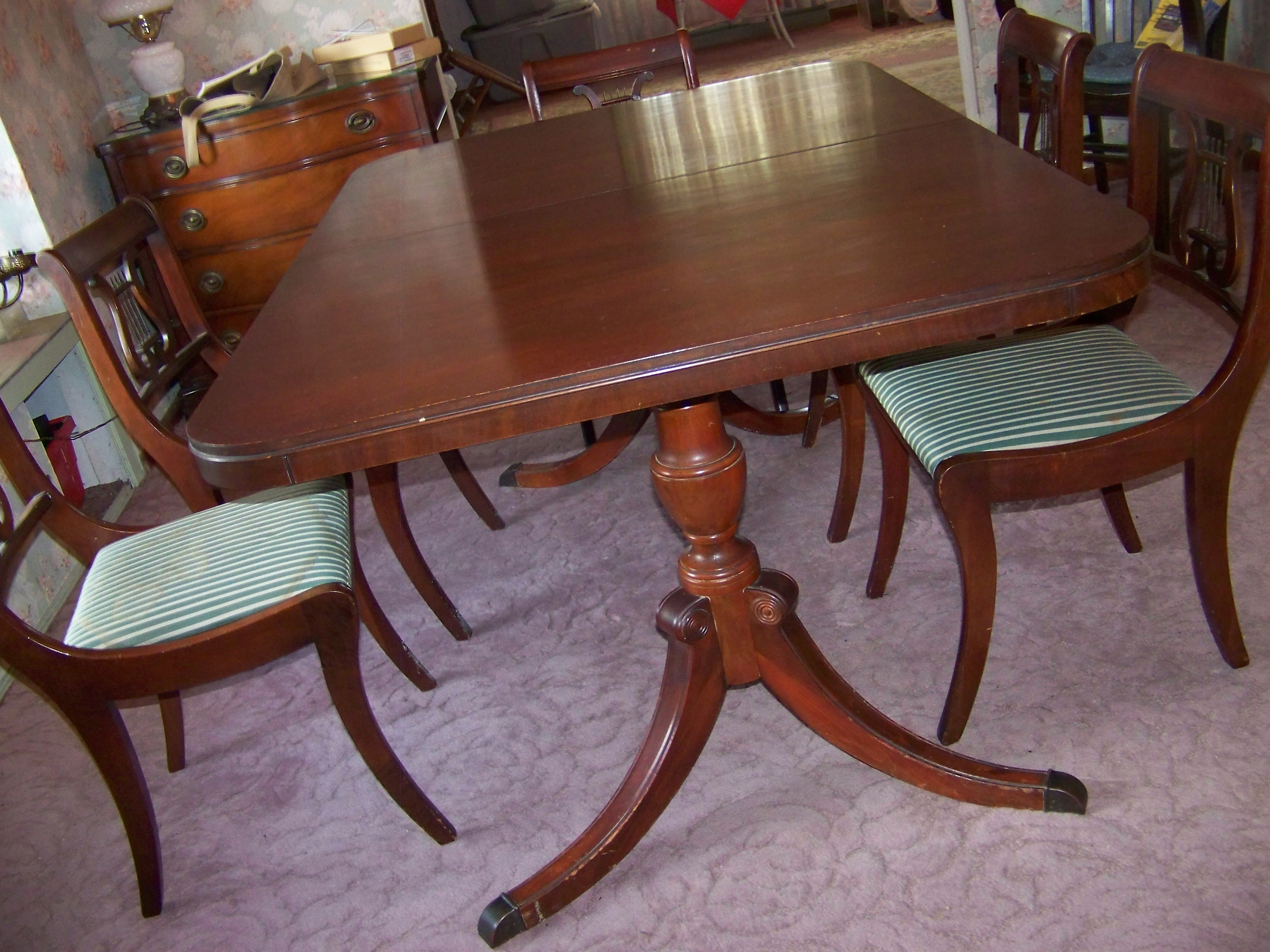 Drexel Dining Room New Travis Court Collection antique appraisal ...