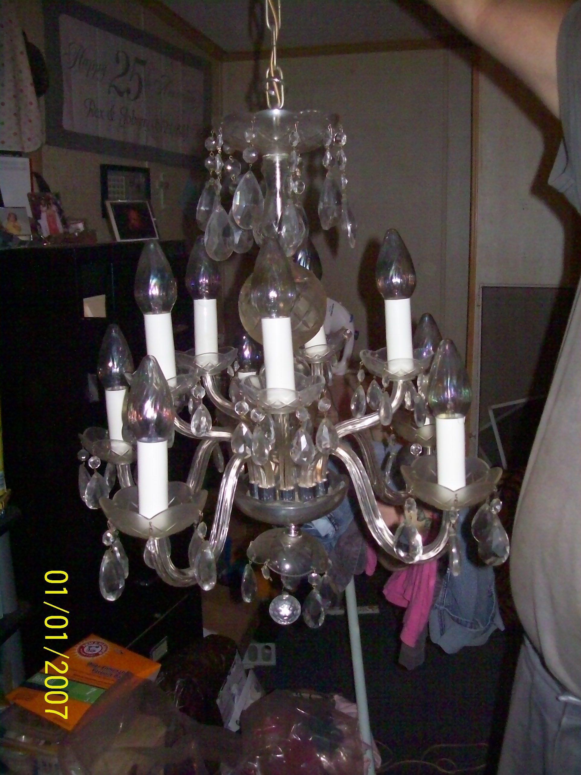 Vintage chandelier antique appraisal instappraisal vintage chandelier arubaitofo Image collections