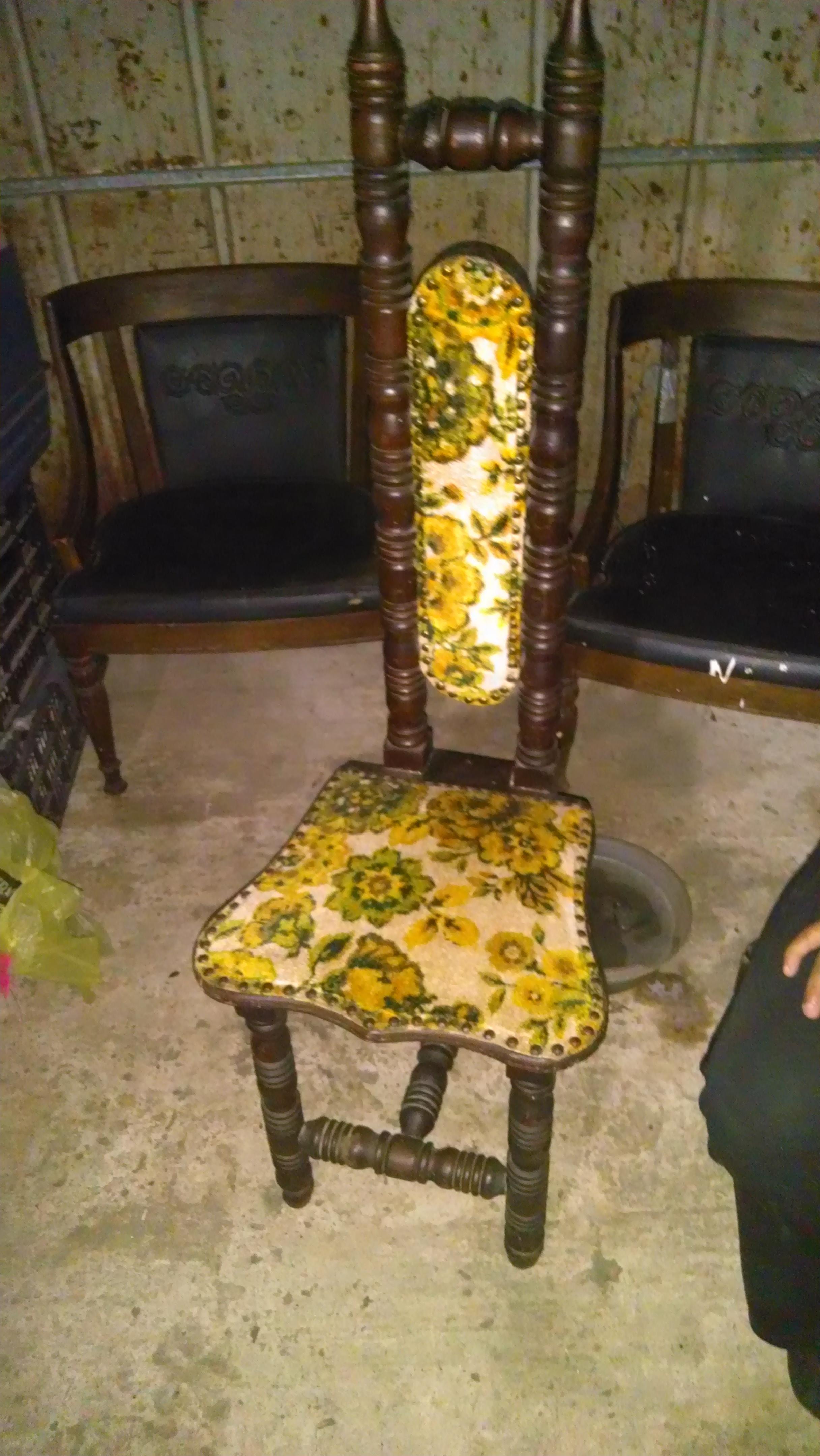 Thin Tall Back Antique Chair Antique Appraisal Instappraisal