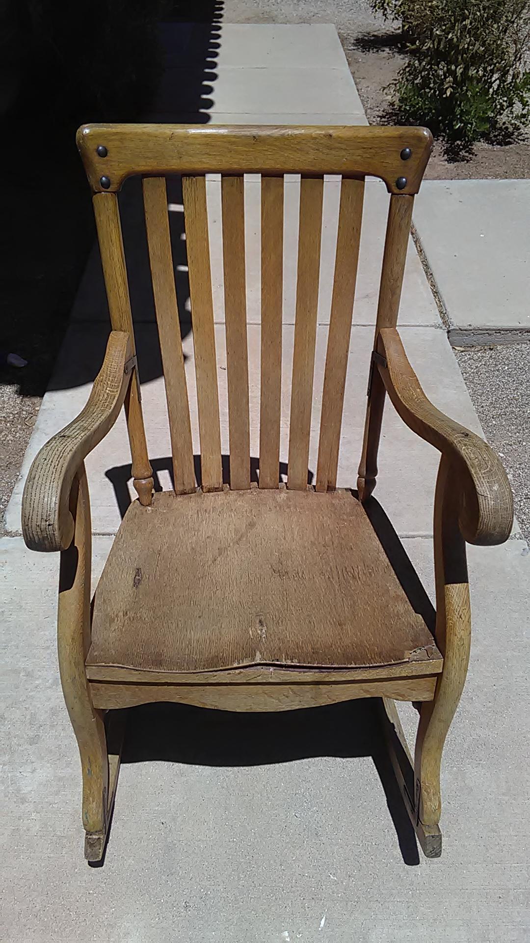 Murphy chair pany rocking chair antique appraisal
