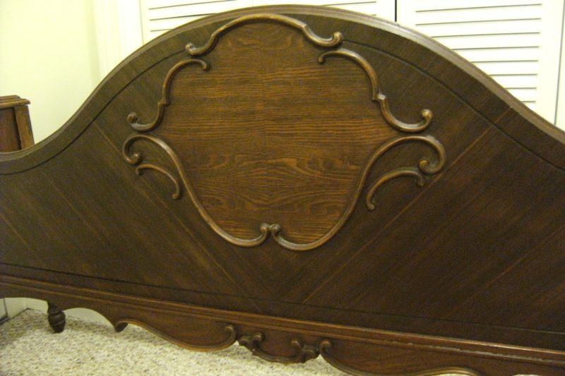 Antique Full Size Bed Gettysburg Furniture Co 1920 1930 Antique Appraisal Instappraisal