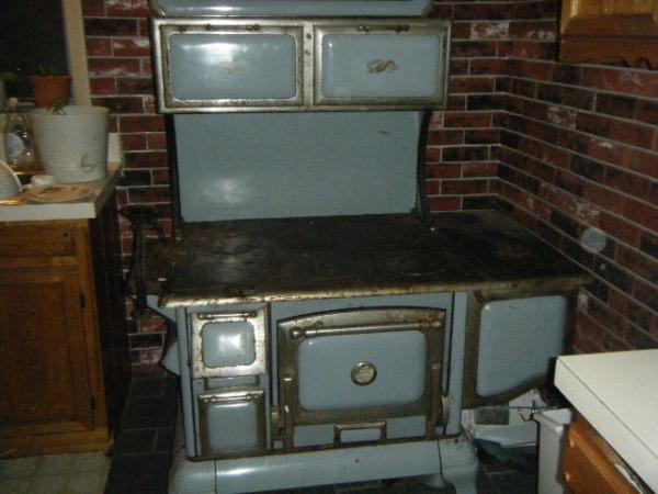 Copper Clad Wood Burning Kitchen Stove