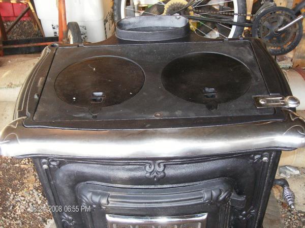 Black Wood Burning Parlor Cook Stove Antique Appraisal