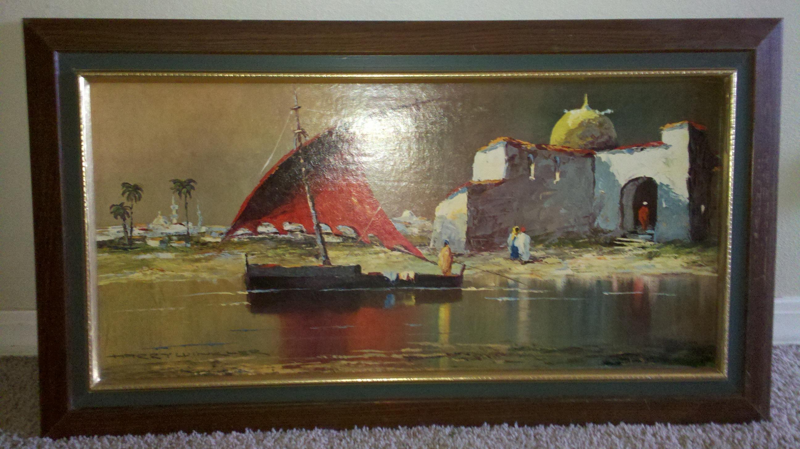 Harry Winkler Oil Painting Antique Appraisal Instappraisal