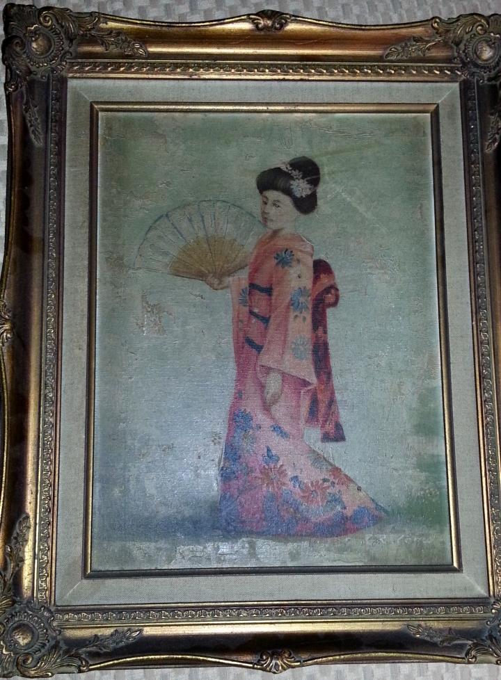 Oil Painting Help Identifying Artist Signature Needed