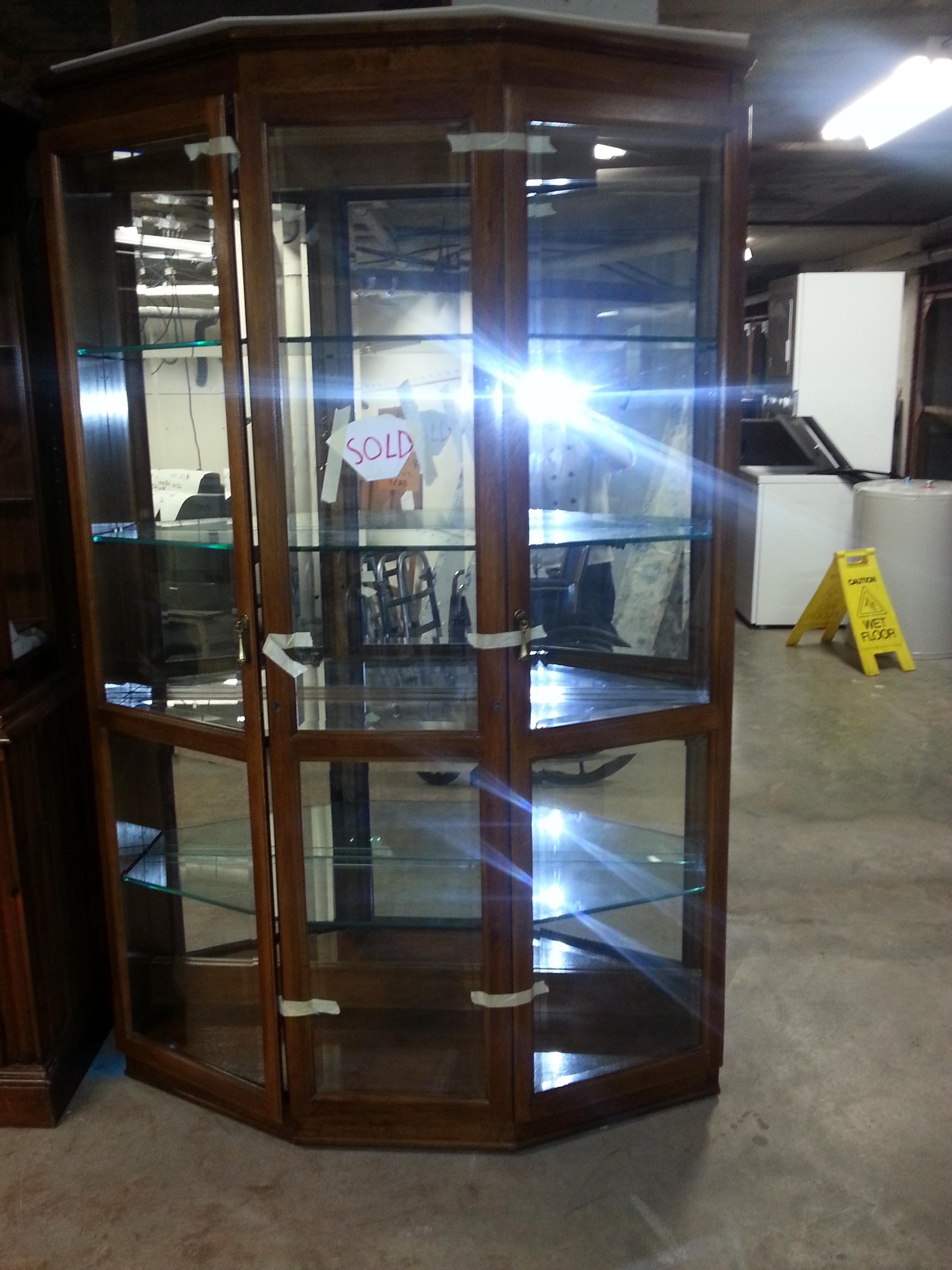 Pulaski Large Curio Cabinet