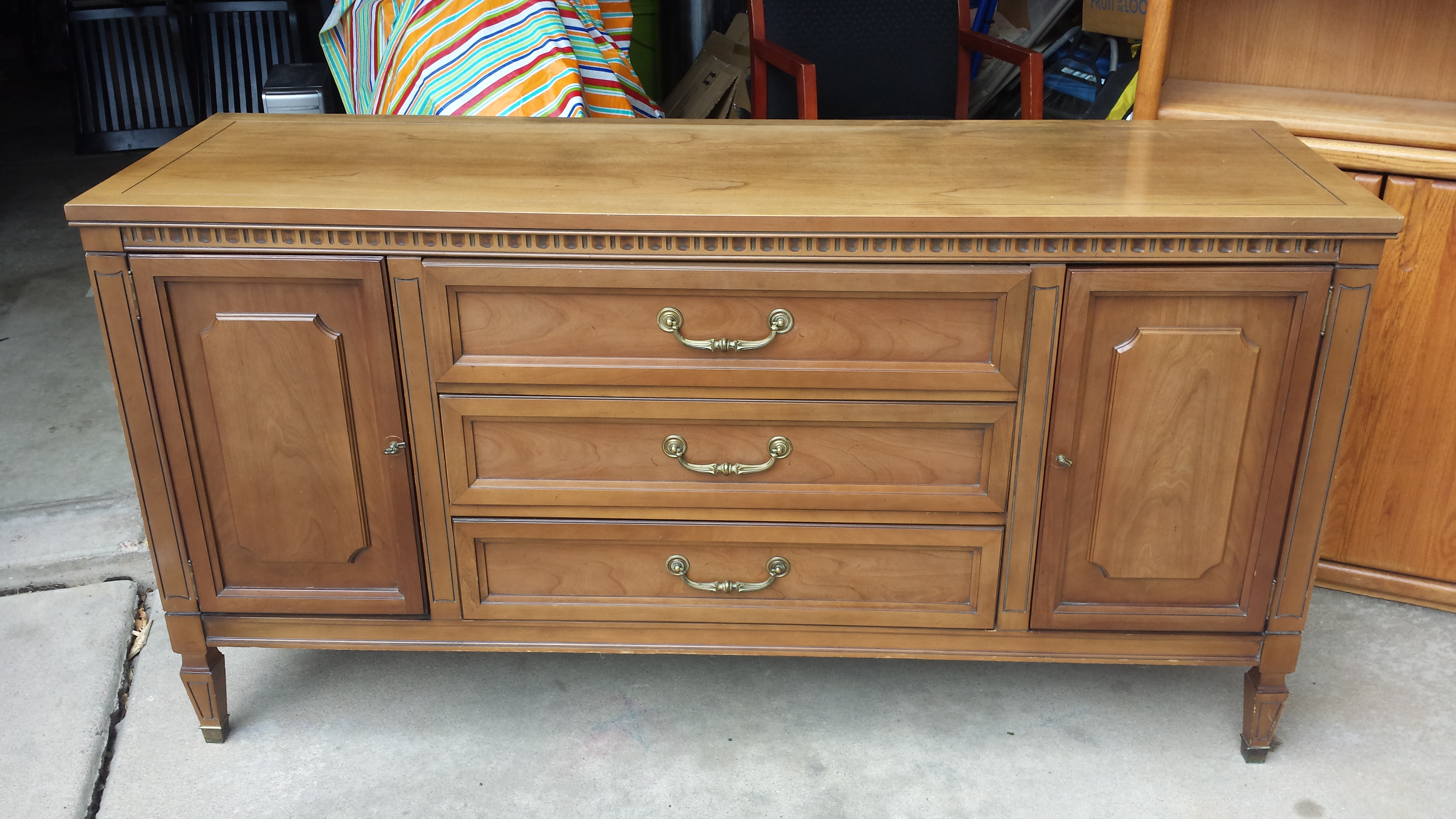 Attractive Antique United Furniture Corporation Buffet