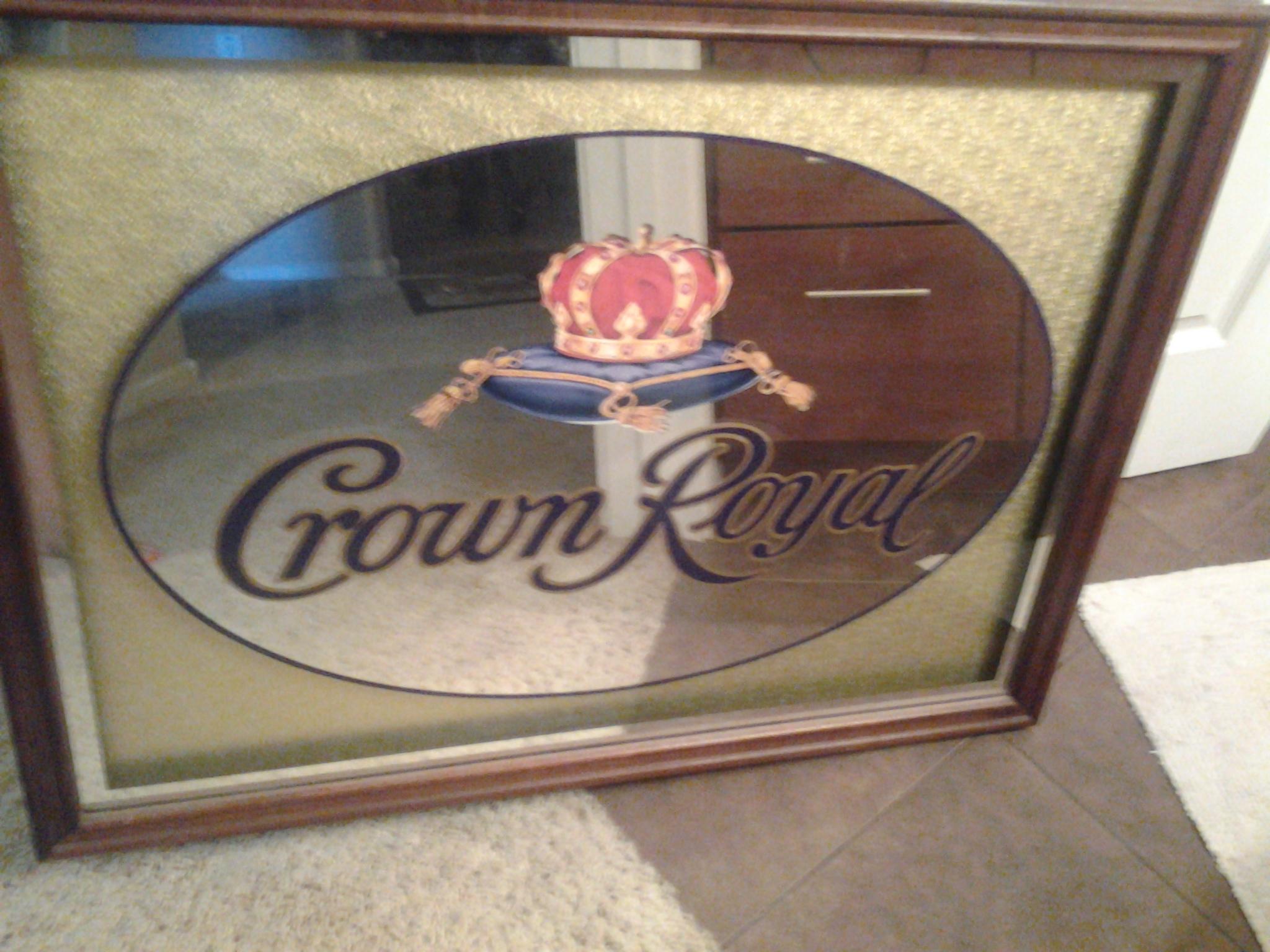 Crown Royal Mirror antique appraisal | InstAppraisal