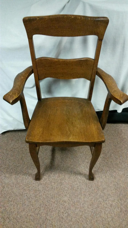 Murphy Chair pany oak arm chair antique appraisal