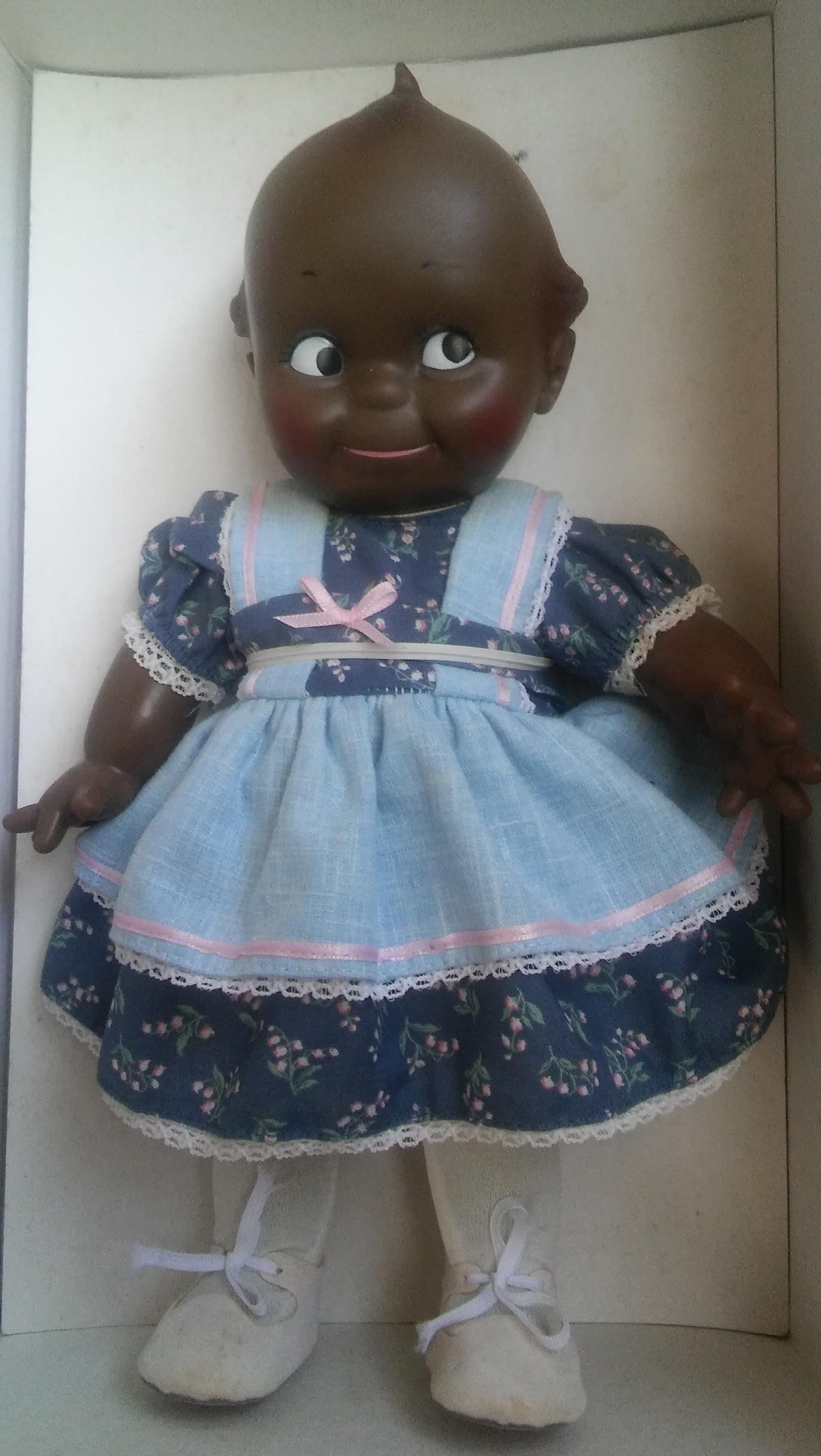 Black Kewpie Dolls  Matching Set