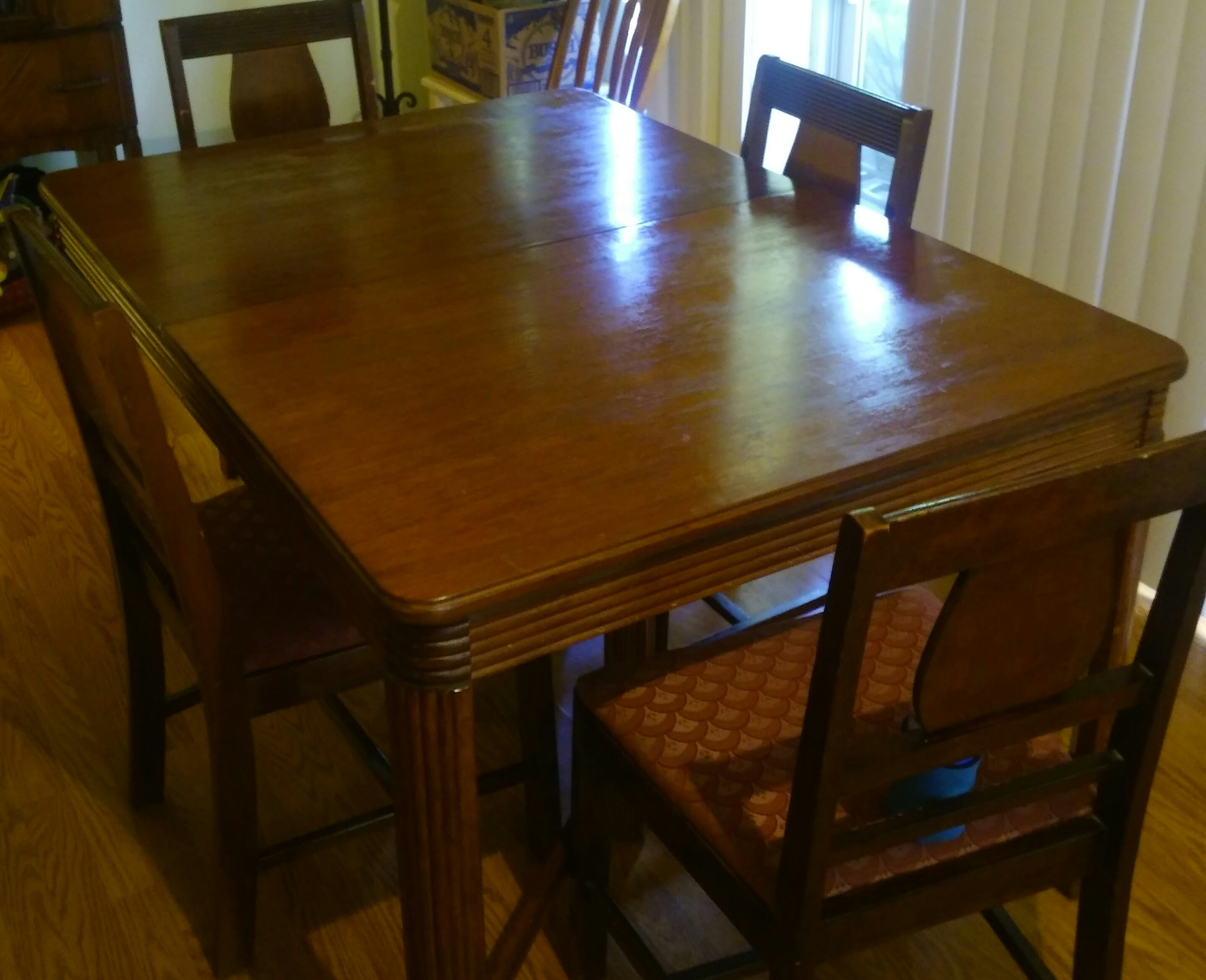 Antique Dining Room Set Appraisal