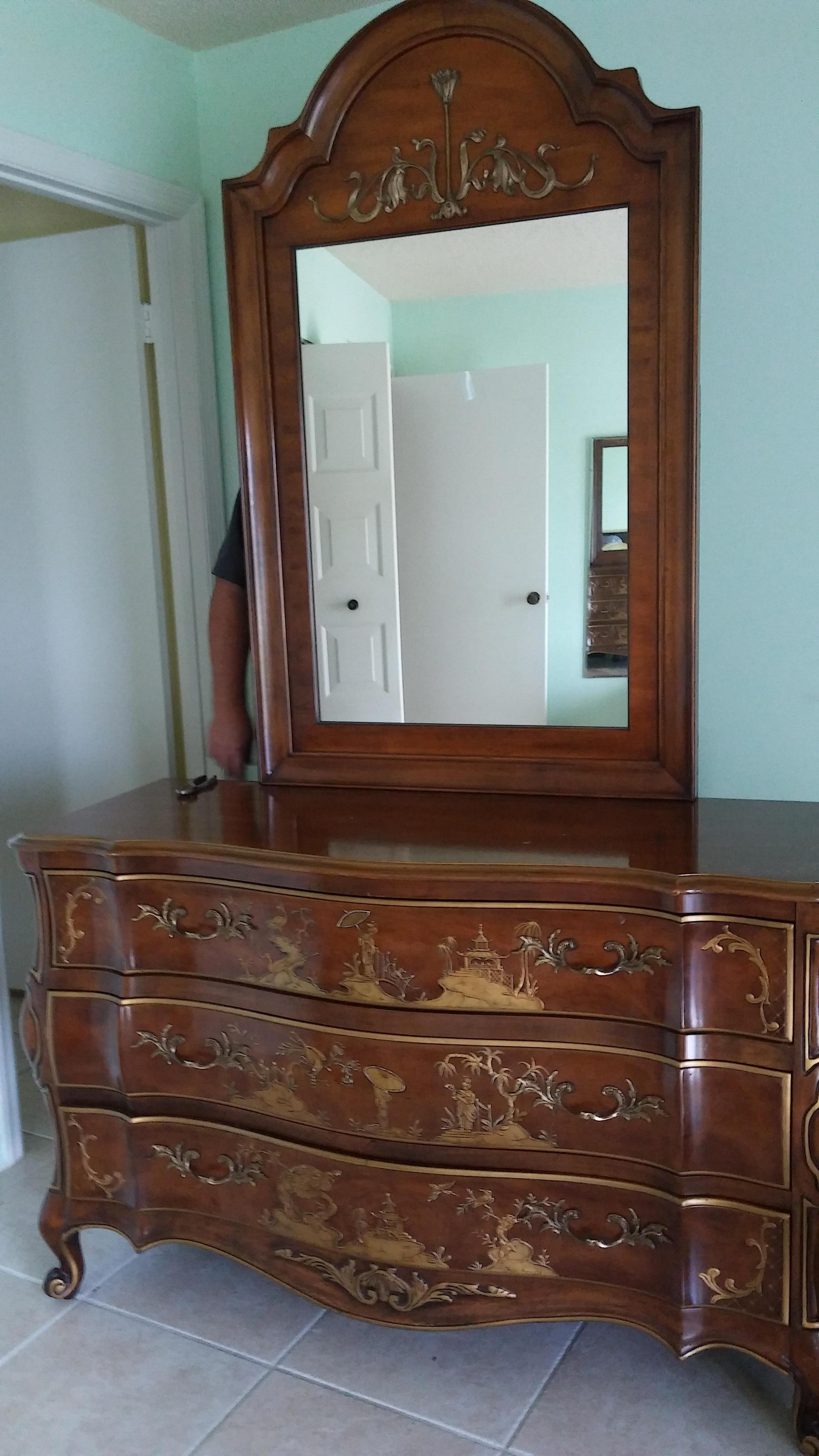 Beautiful bedroom set by White Furniture Company antique ...