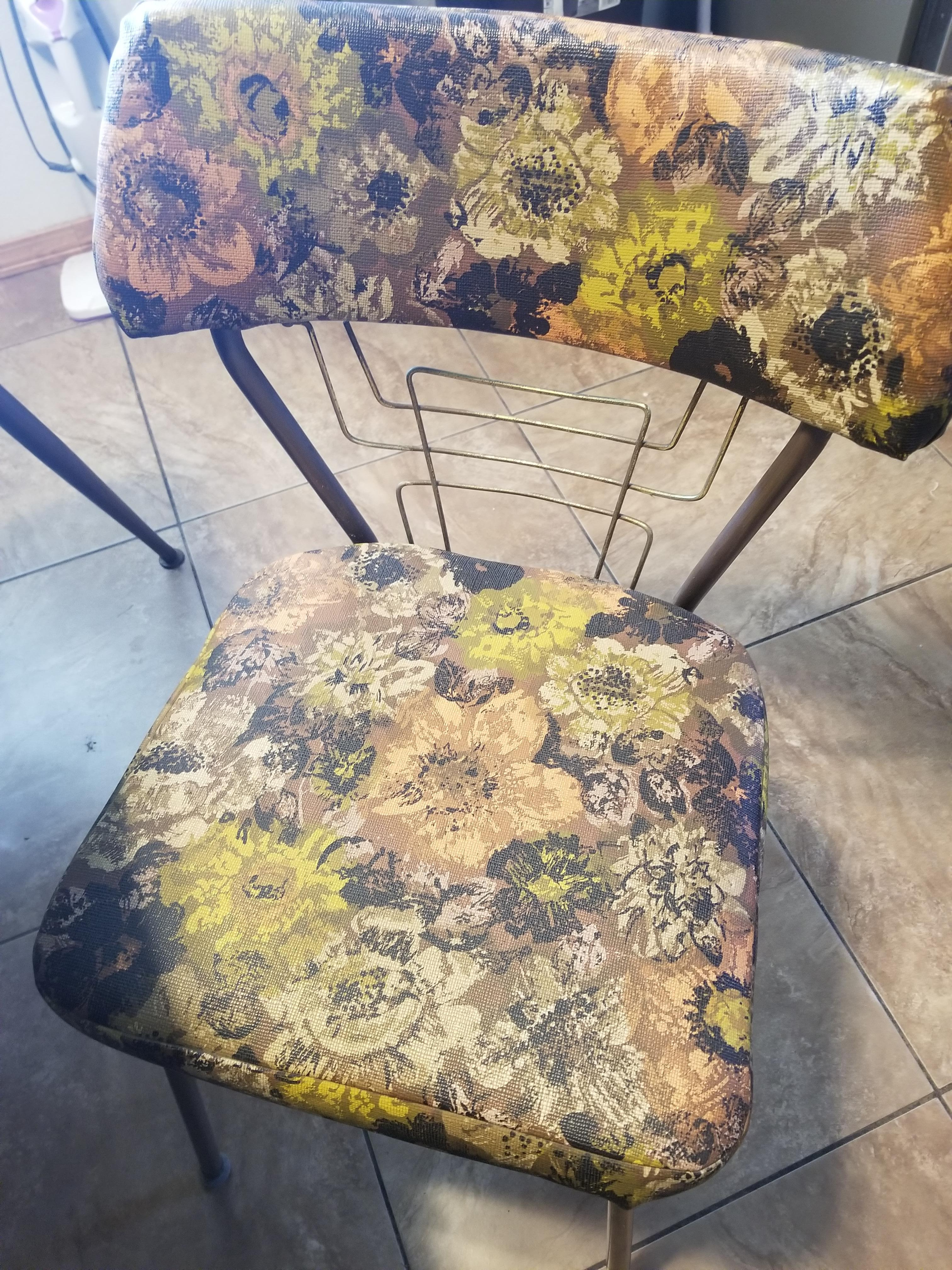 Vintage Formica And Brass Dining Room Table Antique Appraisal