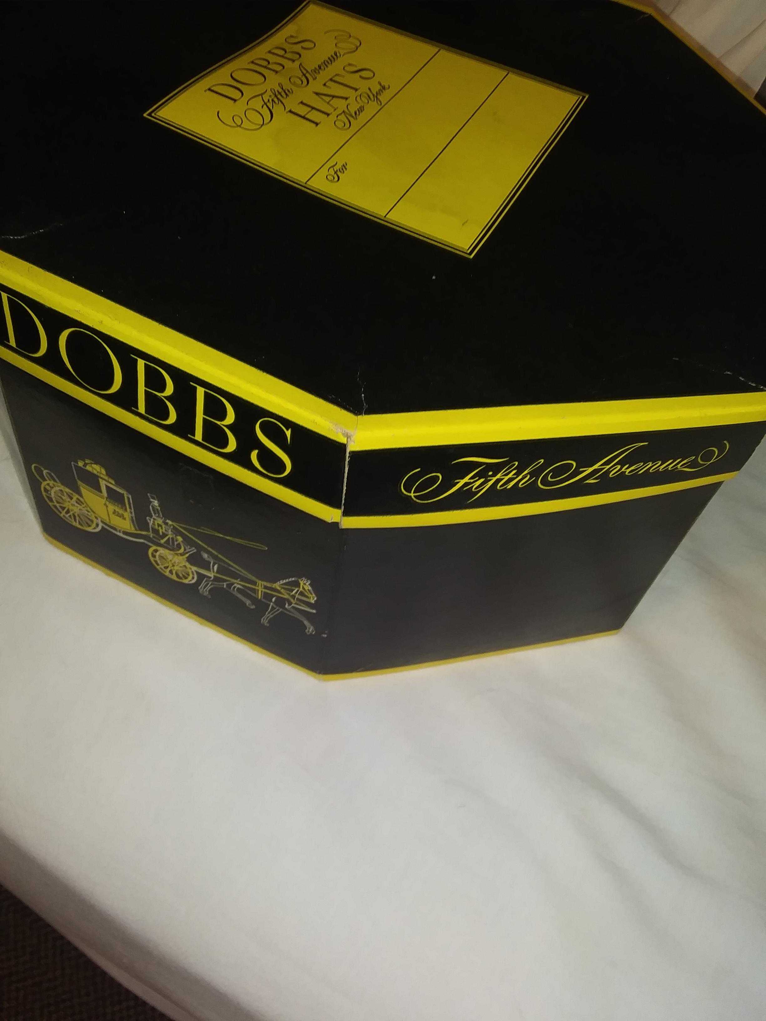 2b54aefc76909 The Imperial Stetson Hat in Dobbs Hat Box antique appraisal ...