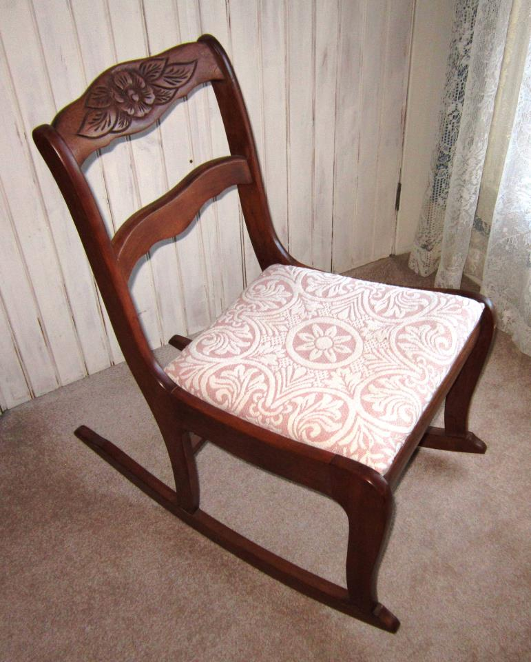 Antique Furniture Appraisal: Duncan Phyfe Rocking Chair Antique Appraisal