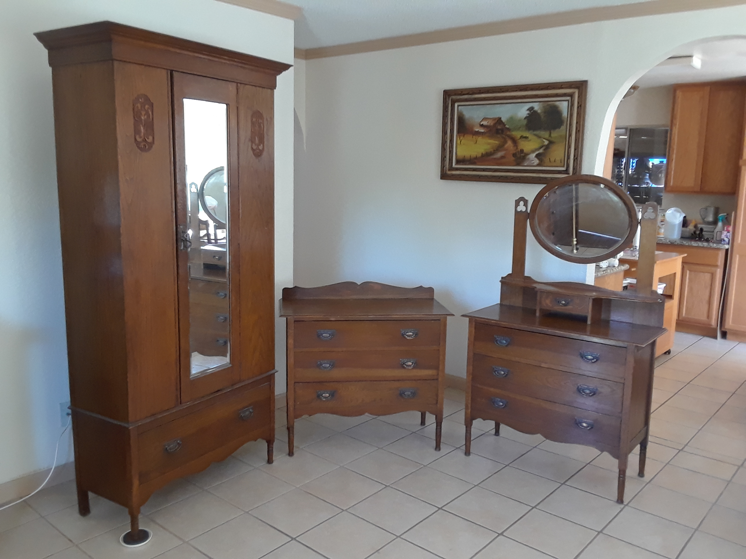 Antique bedroom furniture antique appraisal | InstAppraisal