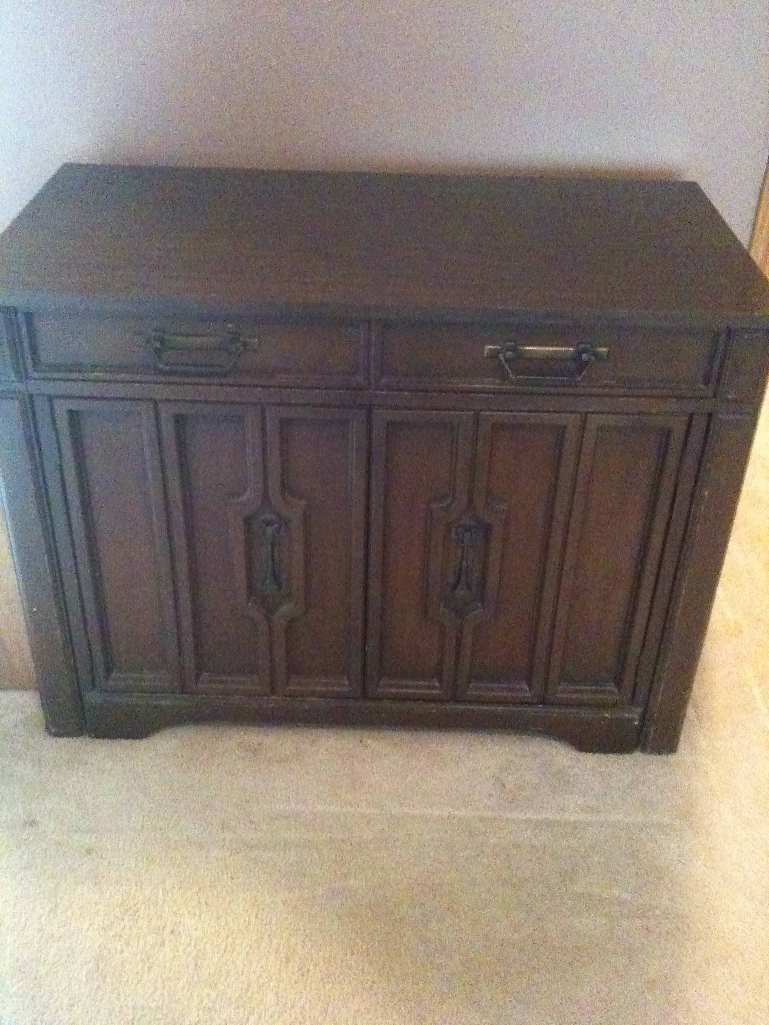 Buffet Table Cabinet Pullout Antique Appraisal