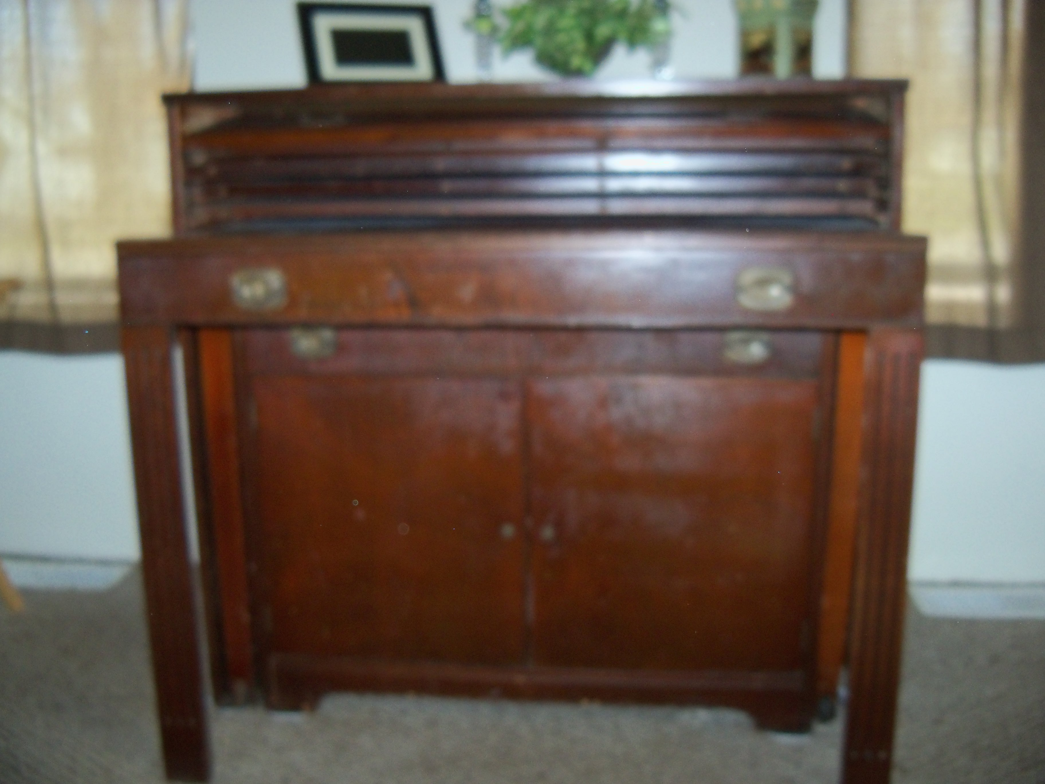 Buffet W Slide Out Table Antique Appraisal Instappraisal