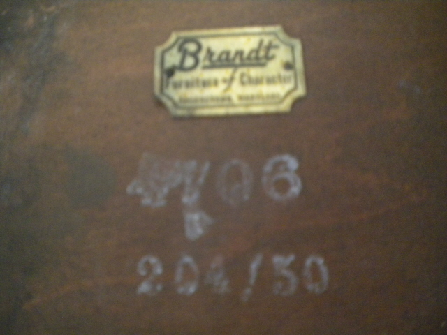 brandt furniture - 3 pc set - 1 coffee table and 2 end tables
