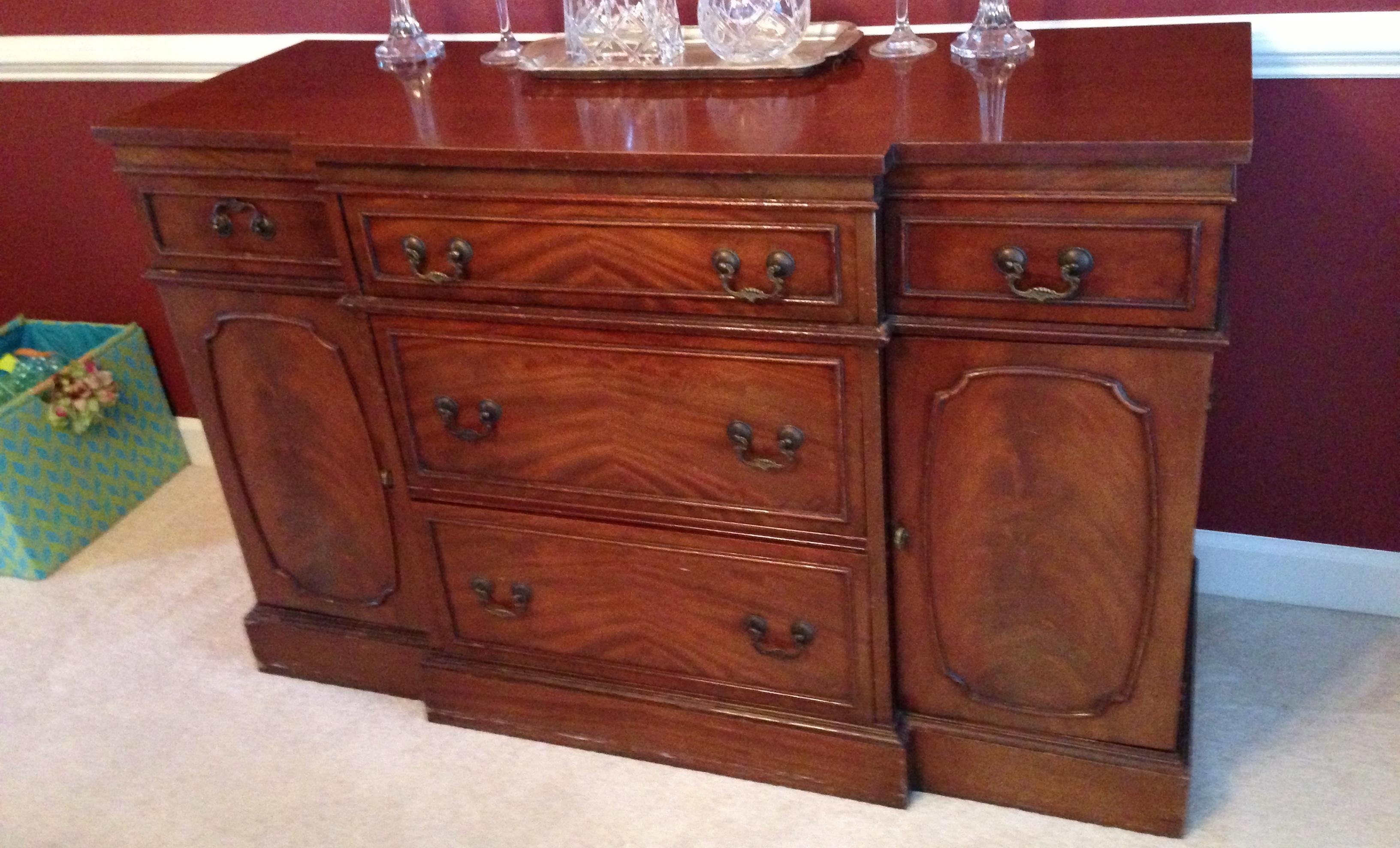vintage drexel heritage dining room set | Drexel Heritage Dining Room set antique appraisal ...