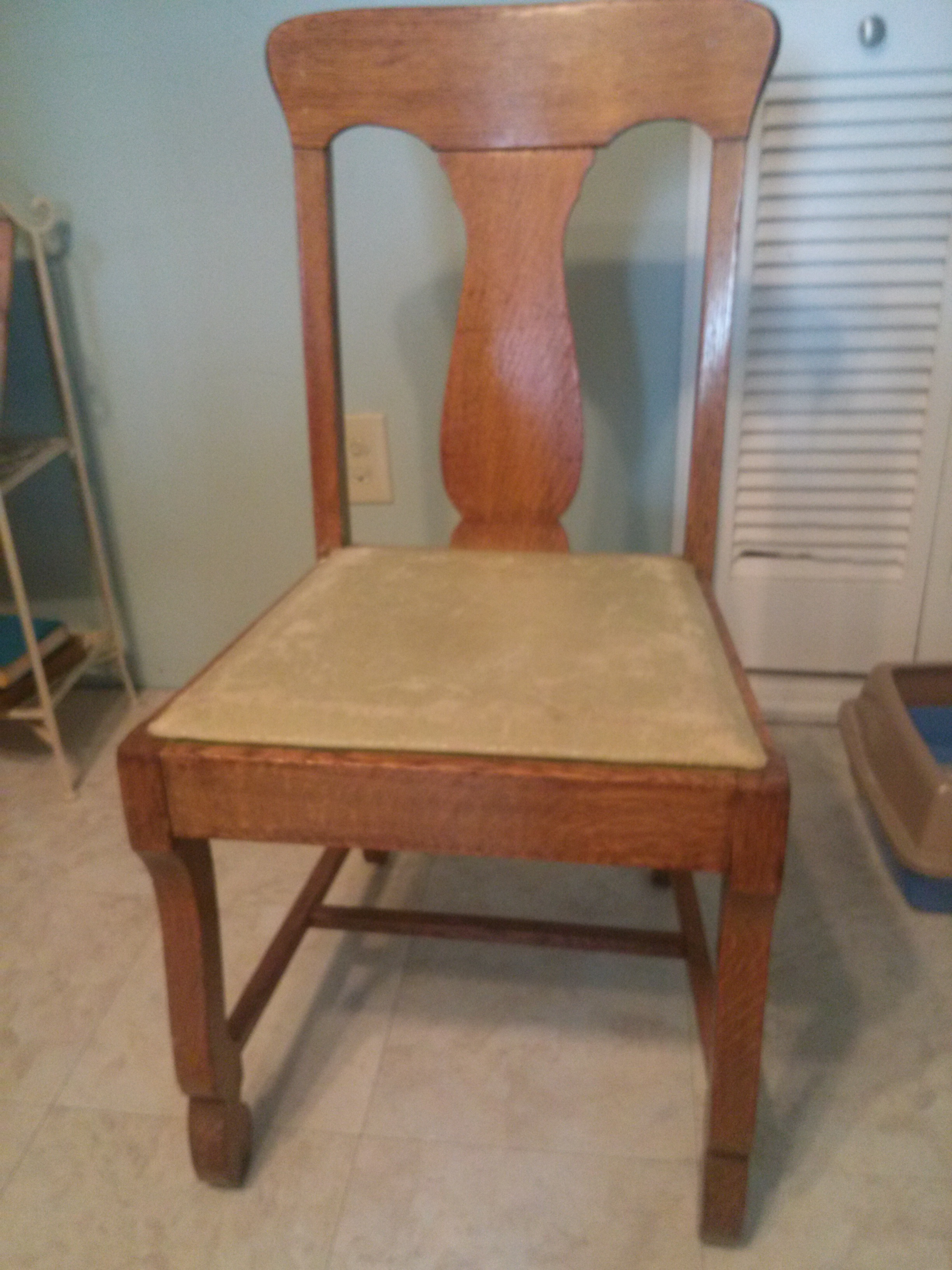 3 Antique Oak Dining Room Chair