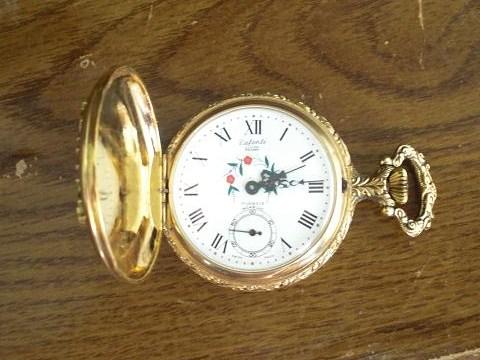 3bed1a1b708 Arnex Dufonte Lucien Piccard 17 Jewels Incabloc Pocket Watch antique ...