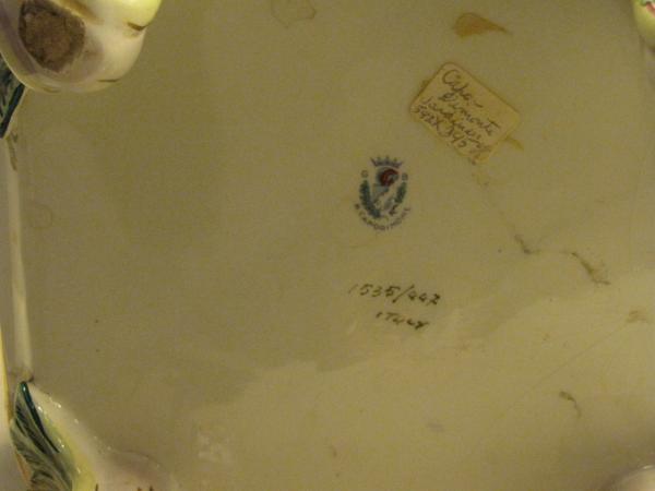 capodimonte marks and dates