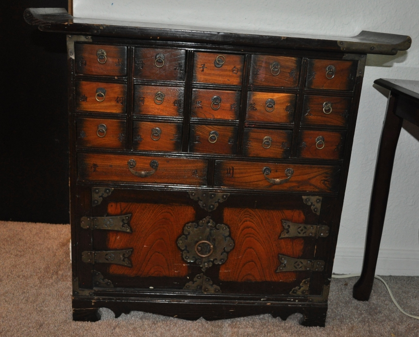 Chinese Apothecary Cabinet