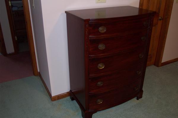 Mahogany Mount Airy Furniture Company Bedroom Furniture Set