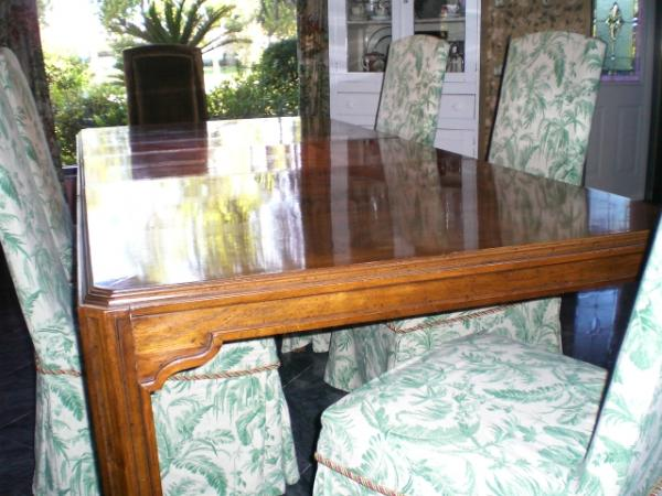 1970s Drexel Heritage Dining Table U0026 8 Chairs
