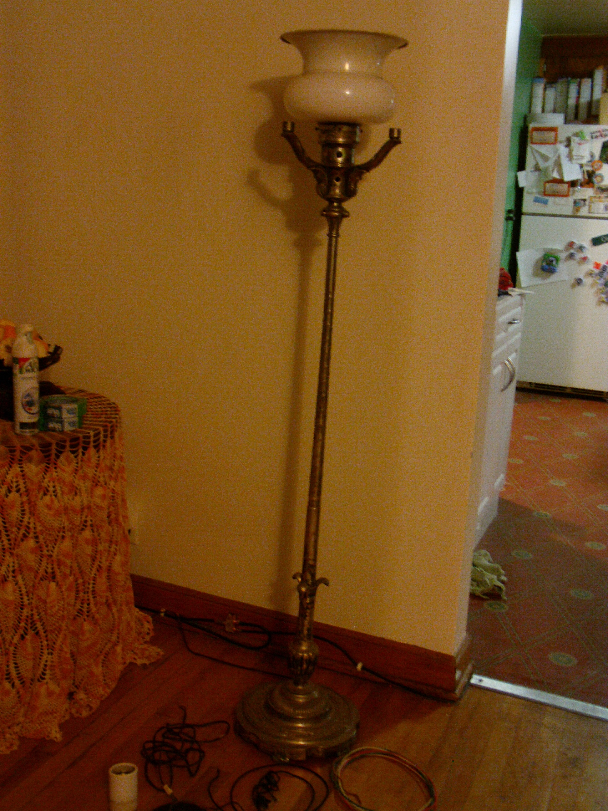 Colonial premier certifed floor lamp antique appraisal instappraisal colonial premier certifed floor lamp aloadofball Images