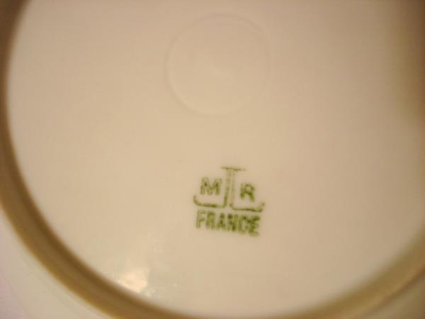 Limoges Saucers or small plates by Martial Redon antique