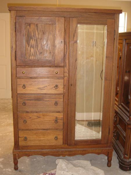 Oak Chifferobe Antique Appraisal Instappraisal