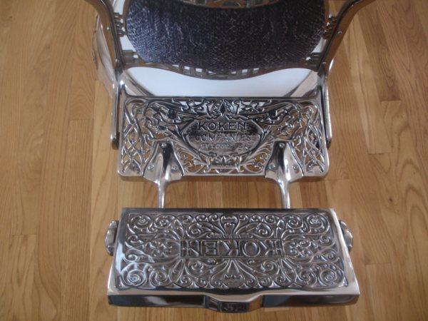 Antique 1930s Koken Barber Chair Antique Appraisal