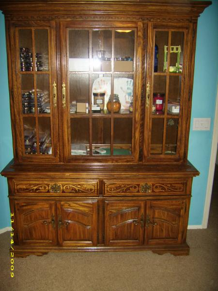 American Drew Dining Set And Hutch