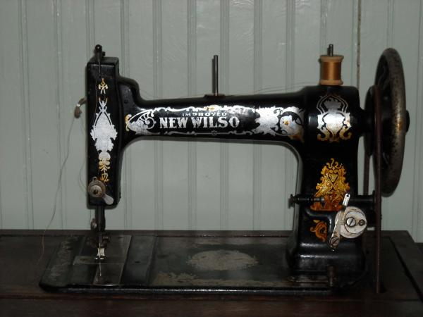 a  g  mason improved new wilson sewing machine antique