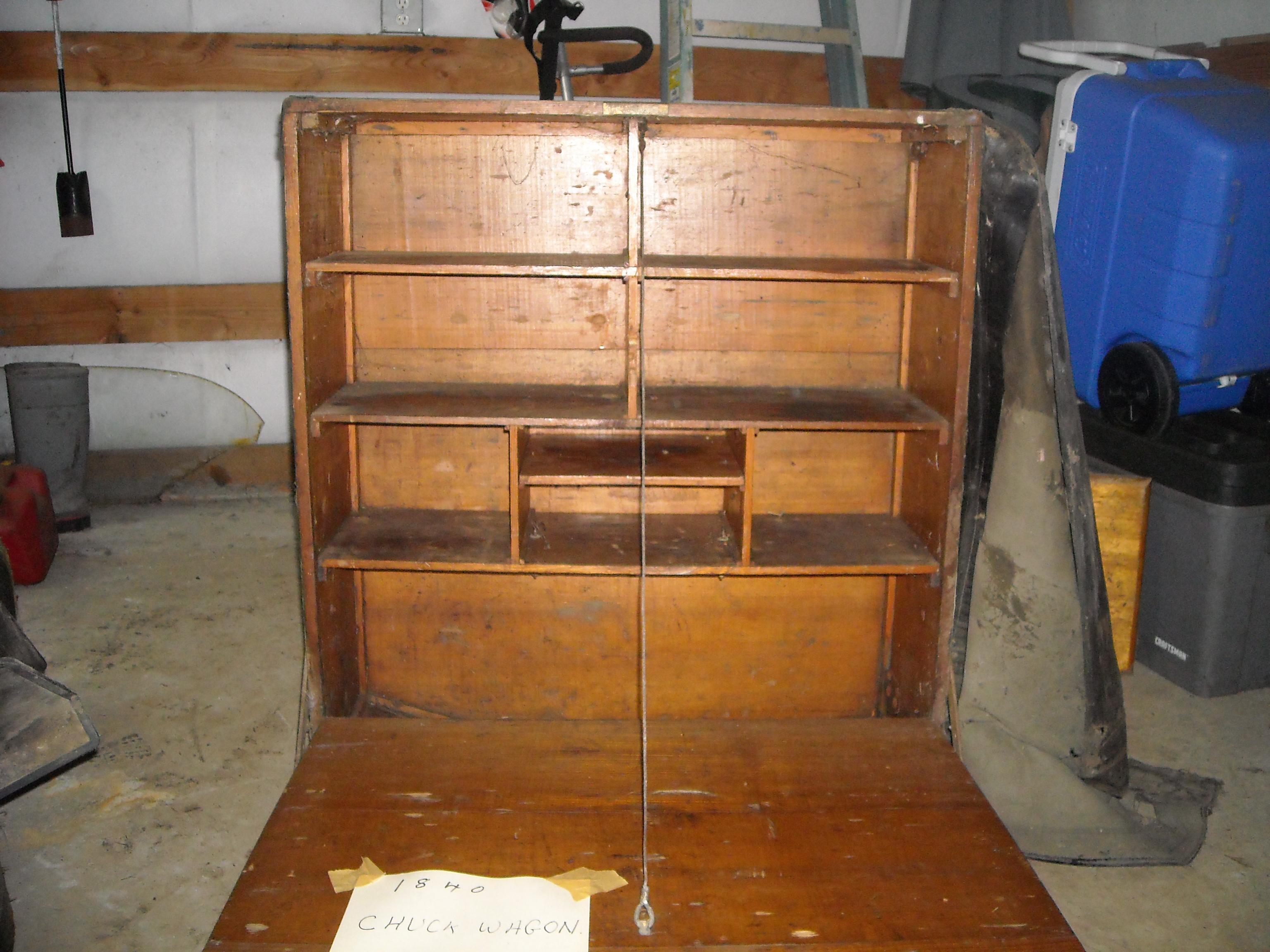 1840 Chuck Wagon Grub Box Antique Appraisal Instappraisal